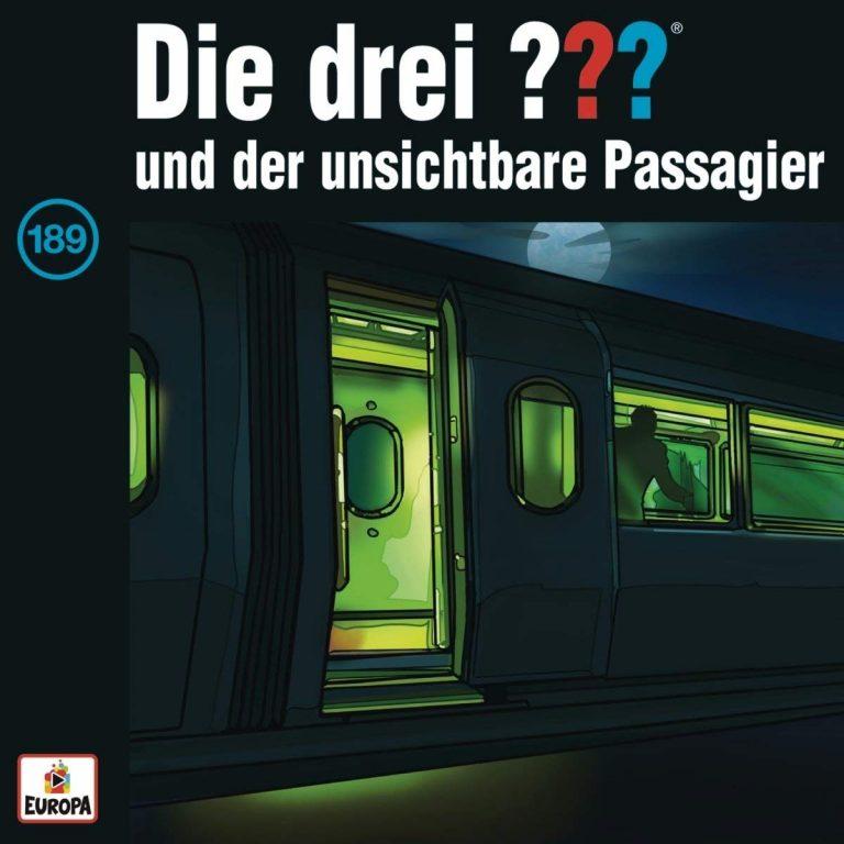 Cover zu Die drei ??? - Folge 189 - ... und der unsichtbare Passagier