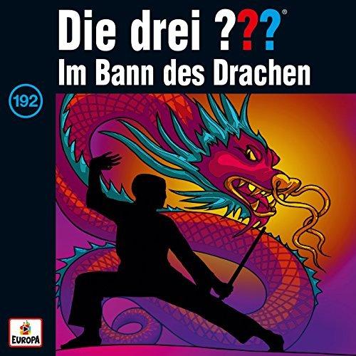 CD Cover zu Die drei ??? - Folge 192 - Im Bann des Drachen