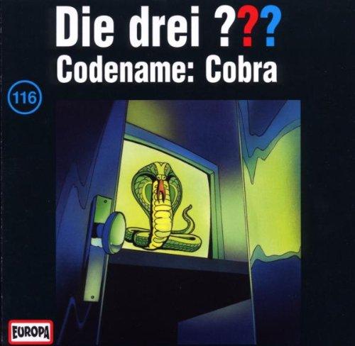 Cover zu Die drei Fragezeichen - Folge 116 - Codename Cobra