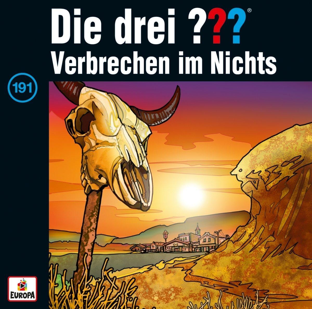 Cover zu Die drei ??? - Folge 191 - Verbrechen im Nichts