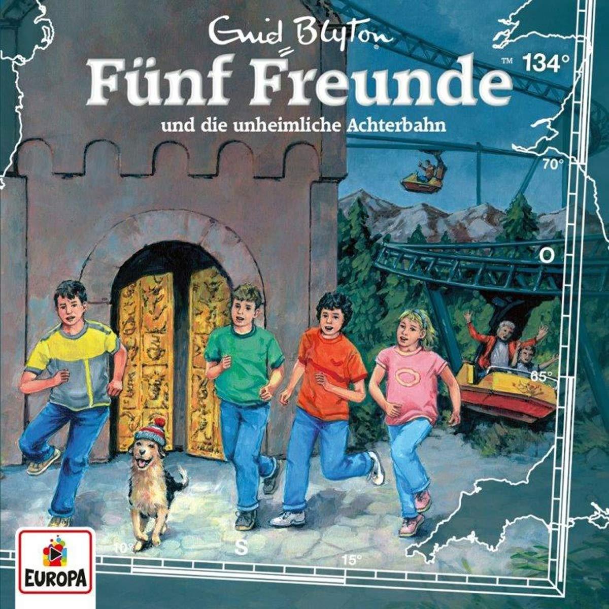 Fünf Freunde - Folge 134 - ... und die unheimliche Achterbahn